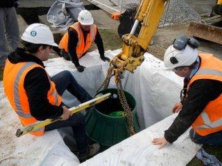 Installing a Flovac PE Pit