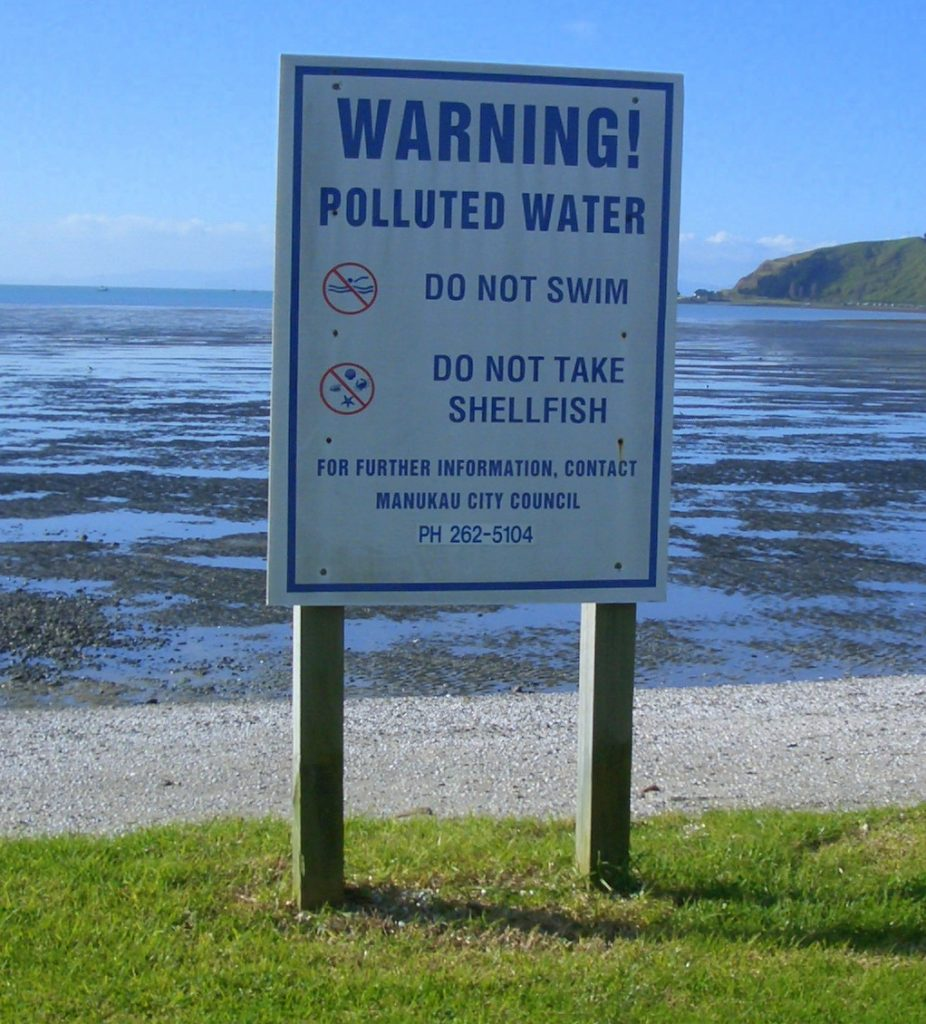 Sewage overflows affecting aquaculture and tourism