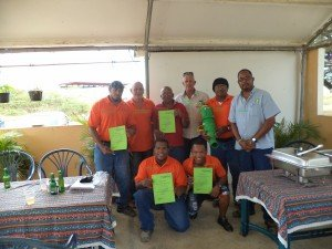 Infra team of WEB NV successfully completed the Flovac training course in the Caribbean