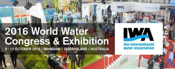 Meet the FLOVAC team at the International Water Congress Brisbane 2016