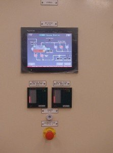 Touch Screen Control Panel at the VPS